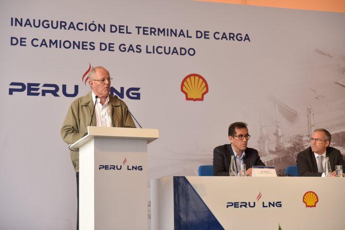 PERU LNG INAUGURÓ TERMINAL DE CARGA DE CAMIONES DE GNL QUE IMPULSARÁ LA MASIFICACIÓN DEL USO DEL GAS NATURAL