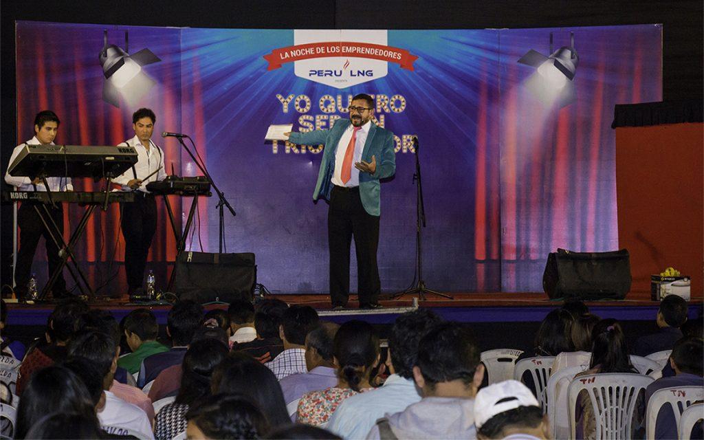 Más de 900 personas participaron en La Noche de los Emprendedores organizada por PERU LNG