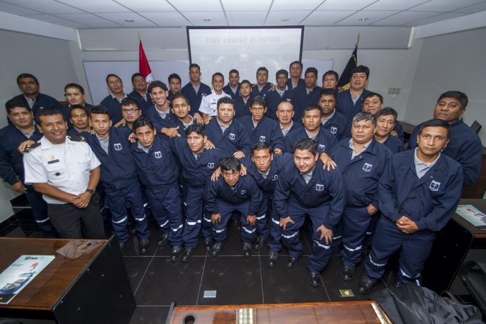 More than 100 fishermen from Chincha and Cañete have been trained through initiative of PERU LNG
