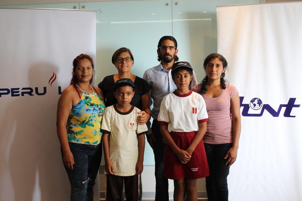 Escolares chinchanos entrenaron ping-pong en Brasil con apoyo de PERU LNG y HUNT
