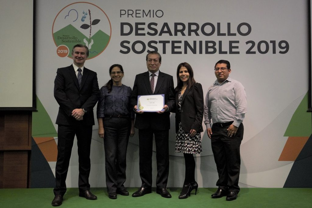 PERU LNG wins important award from the National Society of Mining, Petroleum and Energy