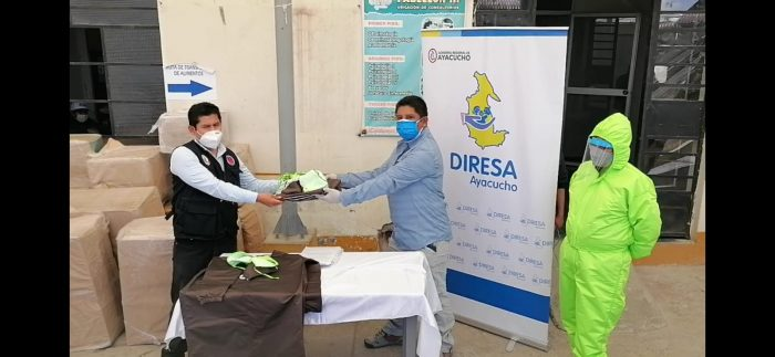 PERU LNG donates 1,100 biosecurity kits to Ayacucho, Cañete and Chincha