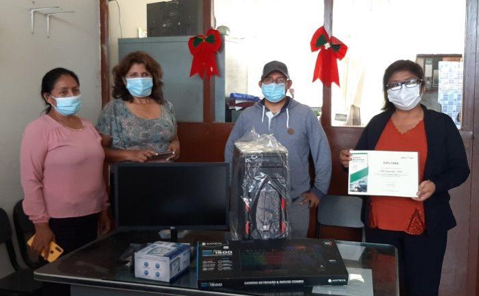 Colegios de Chincha y Cañete ganan Premio Ambiental de PERU LNG